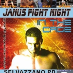 "Locandina dell'evento ""Janus Fight Night"""
