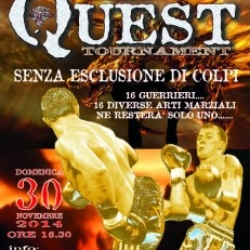 "Locandina dell'evento ""The Quest"""